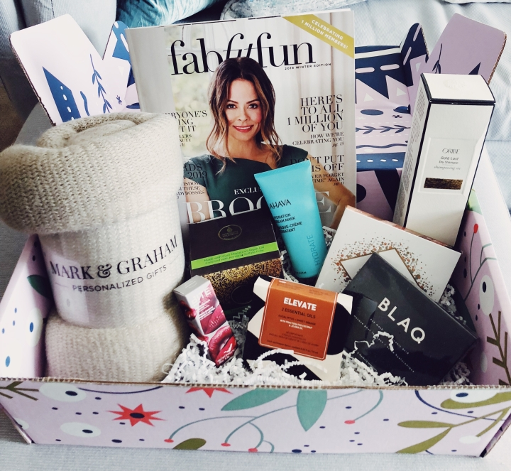 My Winter Fabfitfun Box!
